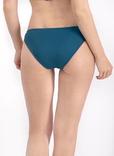 Arnetta  Mor Slip Bikini Altı Petrol